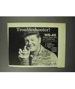 1970 Rocket Chemical WD-40 Spray Ad - Troubleshooter - $14.99