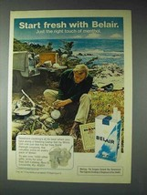 1973 Belair Cigarettes Ad - Start Fresh With Belair - NICE - $14.99