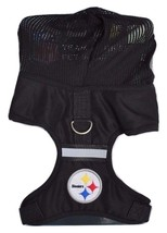 Pittsburgh Steelers Adjustable Reflective Dog Harness with Mesh Hoodie P... - €15,96 EUR+