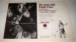1969 Eagle Claw Fishing Tackle Ad! - $14.99