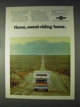 1970 Chevrolet Pickup Truck Ad - Home, Sweet-Riding - $14.99