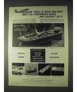 1970 Ouachita Convincer Boat Ad - Fishermen's Needs - $14.99