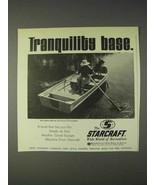 1970 Starcraft Sea Scamp Marine Fishing Boat Ad - $14.99