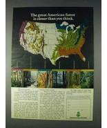 1972 American Forest Institute Ad - Closer - $14.99