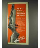 1972 Crosman Model 1400 Rifle Ad - Do-it-All Gun - $14.99