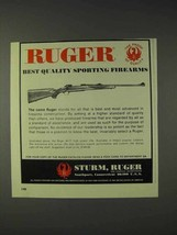 1973 Ruger M-77 High Power Rifle Ad - Best Quality - $14.99