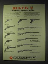 1973 Ruger Firearms Ad - Old Army Percussion Revolver + - $14.99
