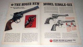 1973 Ruger New Model Single-Six Revolver Ad! - $14.99
