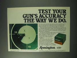1978 Remington Cartridges Ad - Test Your Accuracy - $14.99