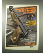 1978 Daisy Power Line 1200 Pistol Ad - Johnny Unitas - $14.99