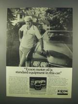 1981 Exxon Motor Oil Ad - Standard Equipment - $14.99