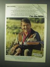 1983 National Rifle Association NRA Ad - Wally Schirra - $14.99