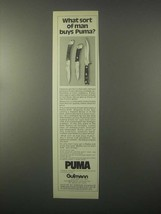 1980 Puma Knives Ad - Aristocrat, 200, Trail Guide - $14.99
