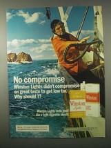 1980 Winston Cigarettes Ad - No Compromise - $14.99