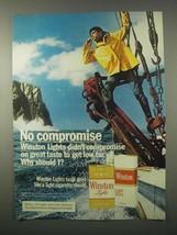 1980 Winston Cigarettes Ad - $14.99