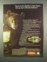 1981 Coleman Lantern Ad - Niagara II Camping Trailer - $14.99