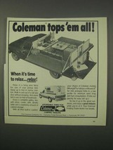 1981 Coleman Wrangler, Maverick Campers Ad - $14.99