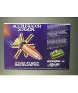 1981 Remington Accelerator Cartridges Ad - Season - $14.99