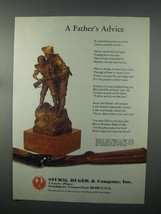 1982 Ruger Firearms Ad - A Father's Advice - $14.99
