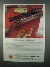 1982 Ruger M-77 Rifle Ad - Investment in the Future - $14.99