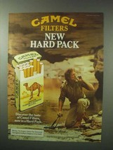 1983 Camel Filters Cigarettes Ad - Camel Filters New Hard Pack - $14.99