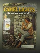 1984 Camel Lights Cigarettes Ad - New World - $14.99