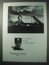 1986 Parums Caron Ad - Le 3eme Homme de Caron - $14.99