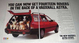 1984 GM Vauxhall Astra Estate Car - Fourteen Rovers - $14.99