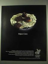 1984 Godiva Chocolate Ad - Belgian Grace - $14.99
