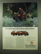 1984 Suzuki Quadrunner Ad - LT 230GE, LT 250E, LT 250EF - $14.99