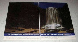 1987 Nissan Bluebird Car Ad - Have Been Shower Tested - $14.99