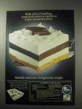 1985 Jell-O Pudding Ad - Your Next Sweet Temptation - $14.99