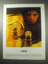 1985 Kohler Flair II Faucet Ad - The Bold Look Of - $14.99
