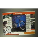 1985 Schwinn Sierra Bicycle Ad - Rugged - $14.99