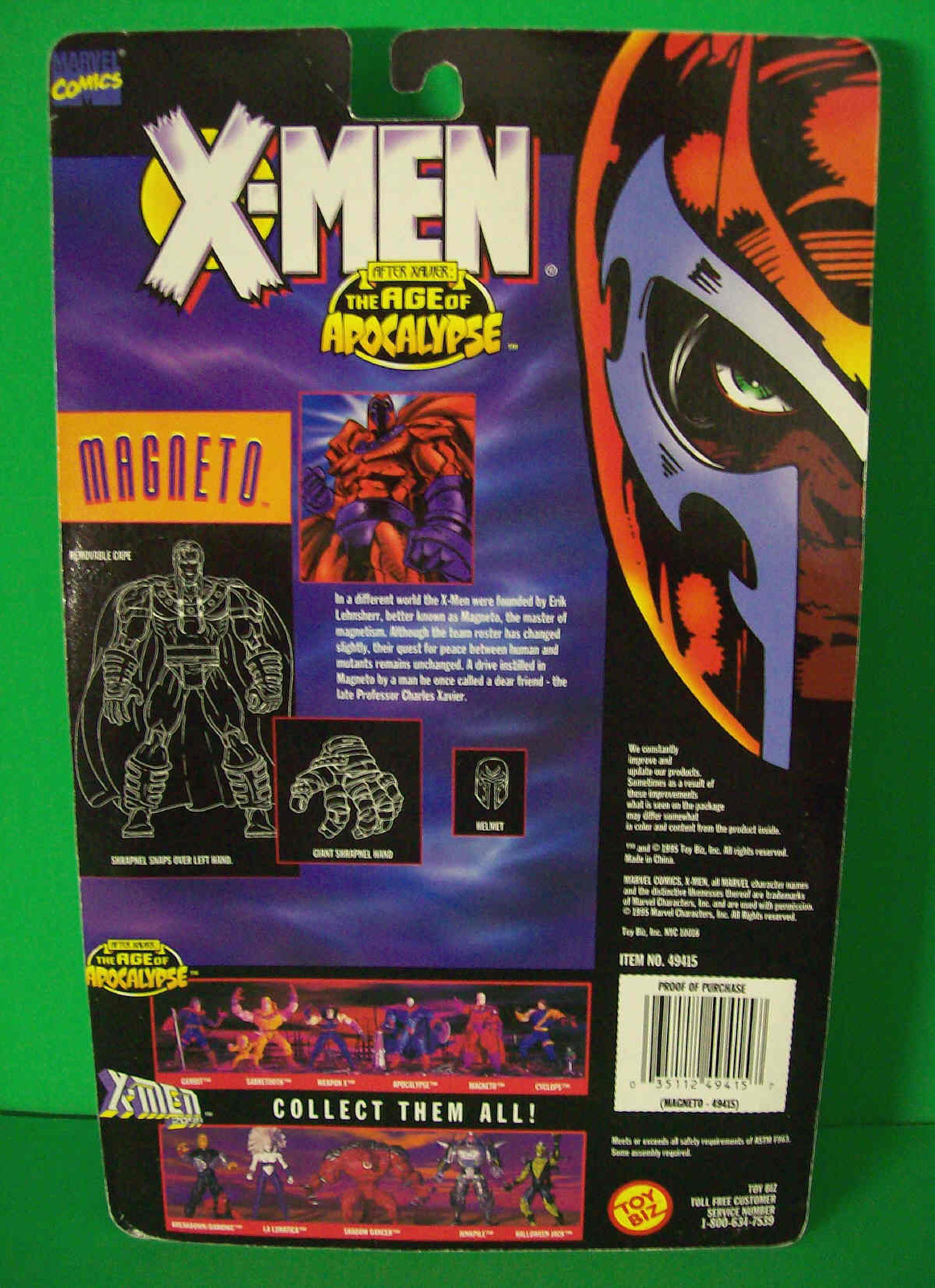 Magneto X- Men After Xavier The Age Of Apocalypse - 1995