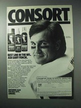 1986 Consort Hair Spray Ad - Gary Fenick - $14.99