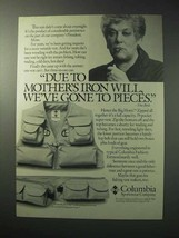 1986 Columbia Big Horn Vest Ad - Mother's Iron Will - $14.99