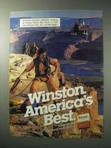 1986 Winston Cigarettes Ad - America's Best - $14.99