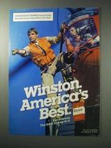 1986 Winston Cigarettes Ad - Best - $14.99