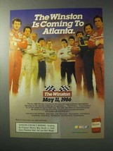 1986 Winston Cigarettes Ad - Ricky Rudd, Dale Earnhardt - $14.99