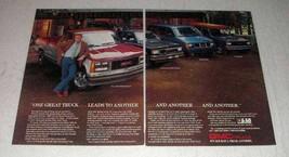 1987 GMC Ad - Safari Van, S-15 Jimmy, Sierra Pickup - $14.99