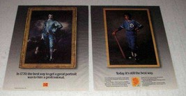 1987 Kodak Film and Paper Ad - Get a Great Portrait - $14.99