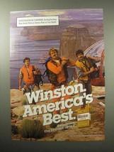 1987 Winston Lights Cigarettes Ad - America's Best - $14.99