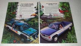 1988 GMC Sierra Pickup Truck Ad - Garry Sowerby - $14.99