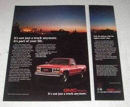 1988 GMC Sierra Pickup Truck Ad - Part of Your Life - $14.99