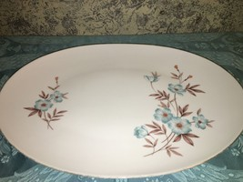 SANGO Pansy vintage fine china turquoise flower... - $23.75