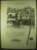 1922 Dixon's Eldorado Pencil Ad - Must be Responsive - $14.99