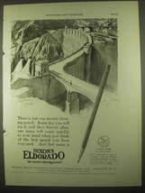 1922 Dixon's Eldorado Pencil Ad - There is But One - $14.99