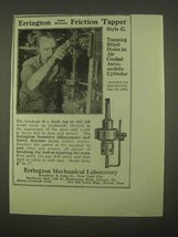 1922 Errington Auto Reverse Friction Tapper Style C Ad - $14.99
