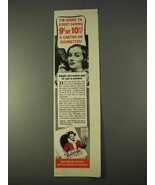 1942 Raleigh Cigarettes Ad - I'm Going to Start Saving - $14.99